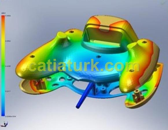 CAD Yazılımında Kalıp Difüzyonu Analizi